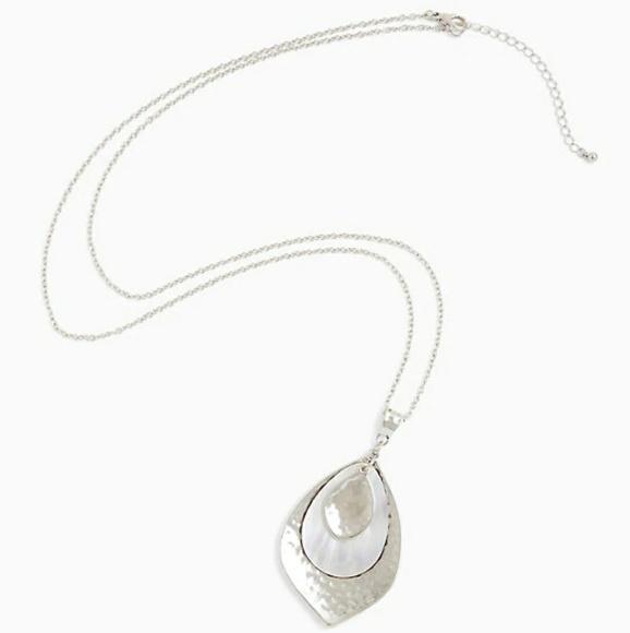 torrid Jewelry - Torrid NWT SILVER-TONE LEAF PENDANT NECKLA…
